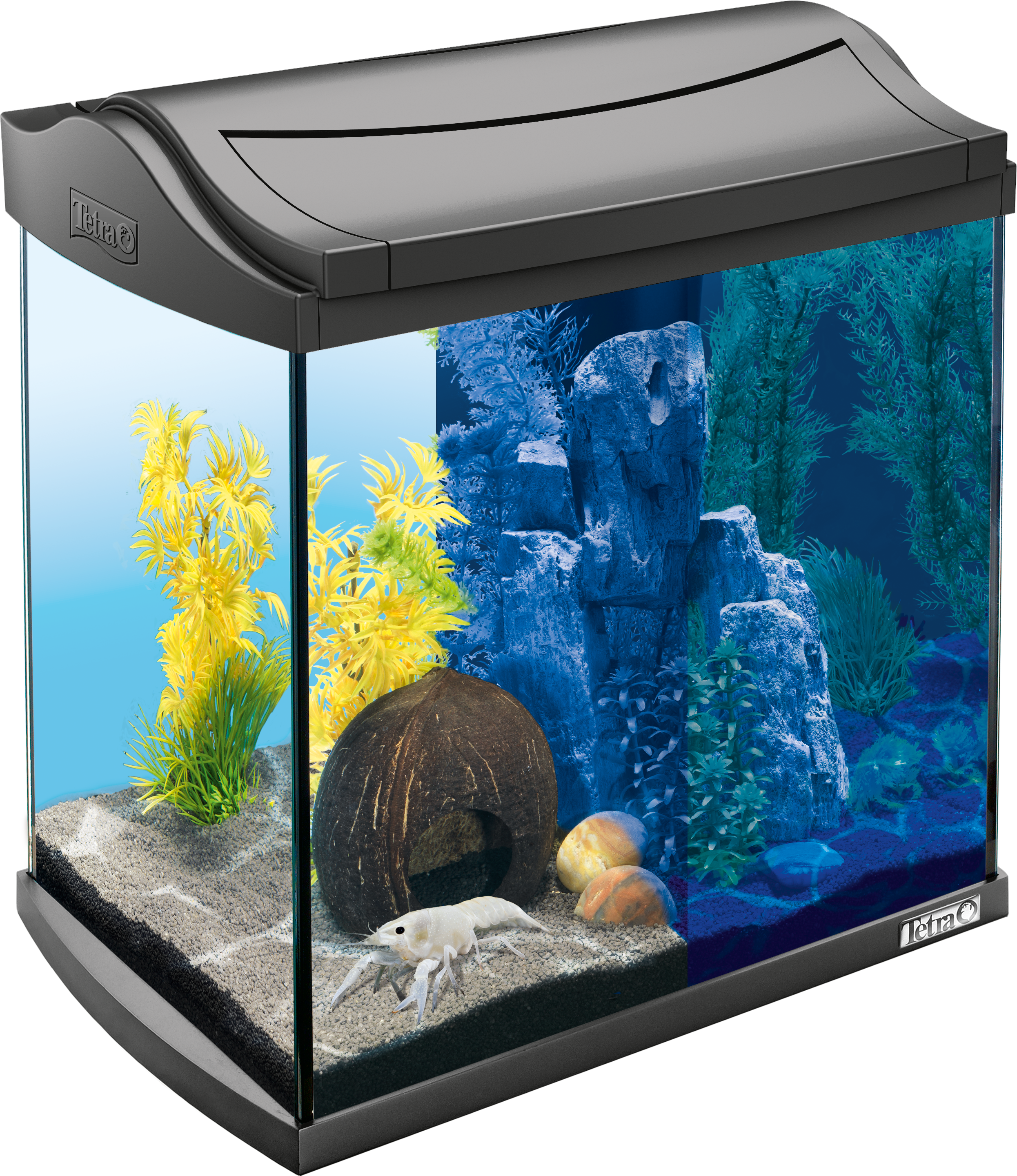 30l tetra aquaart led aquarium crayfish. Black Bedroom Furniture Sets. Home Design Ideas